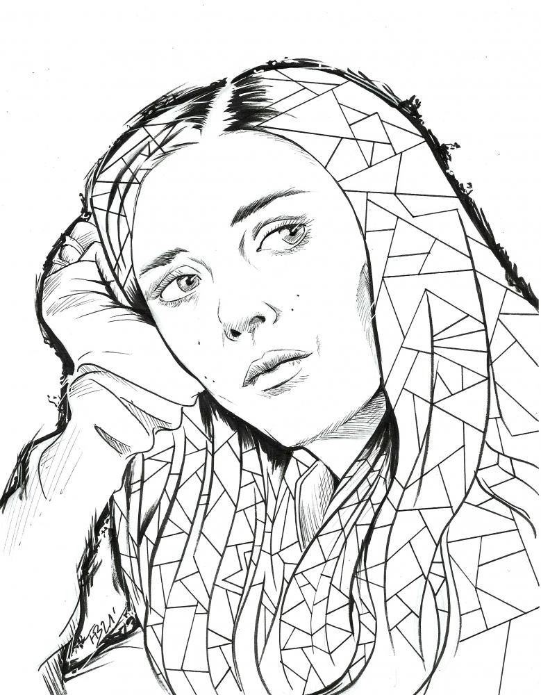 Elizabeth Olsen by 13thmonkey